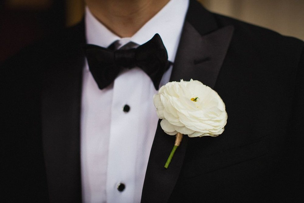 Groom Boutonniere   Planning by Wrap It Up Parties