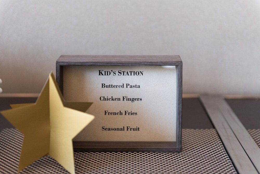 Hollywood Award Show Birthday Party  Kids Food Menu  Planning by Wrap It Up Parties