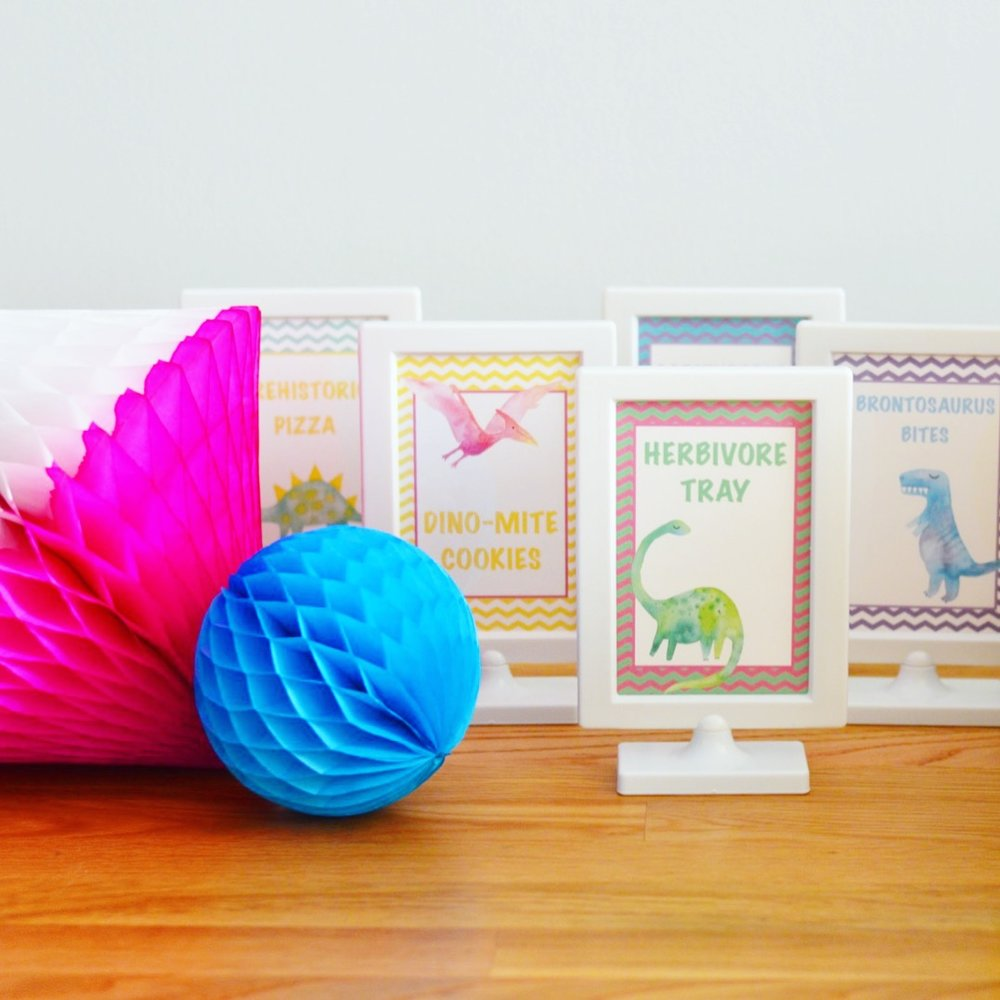 Three-Rex Party Decor  Dinosaur Party Decor  Planning by Wrap It Up Parties