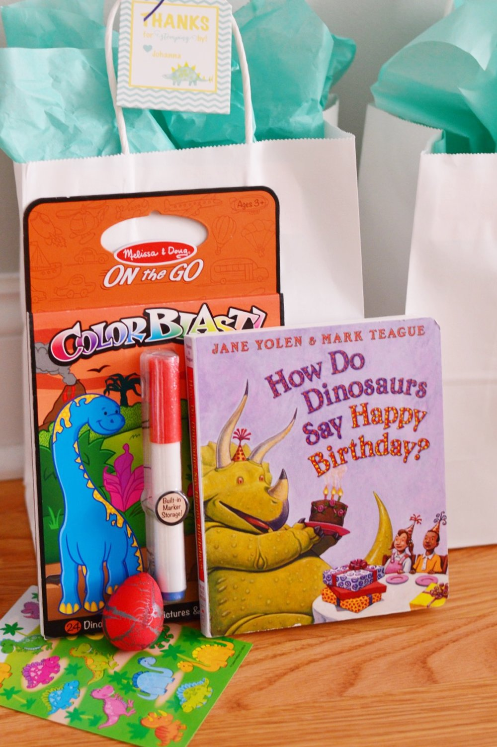 Third Birthday Party  Dinosaur Theme Party  Planning by Wrap It Up Parties