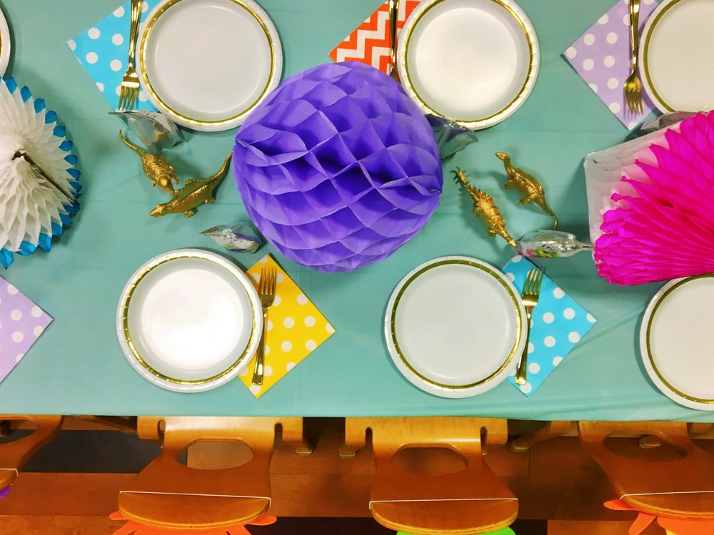 Third Birthday Party  Dinosaur Party Decor  Planning by Wrap It Up Parties