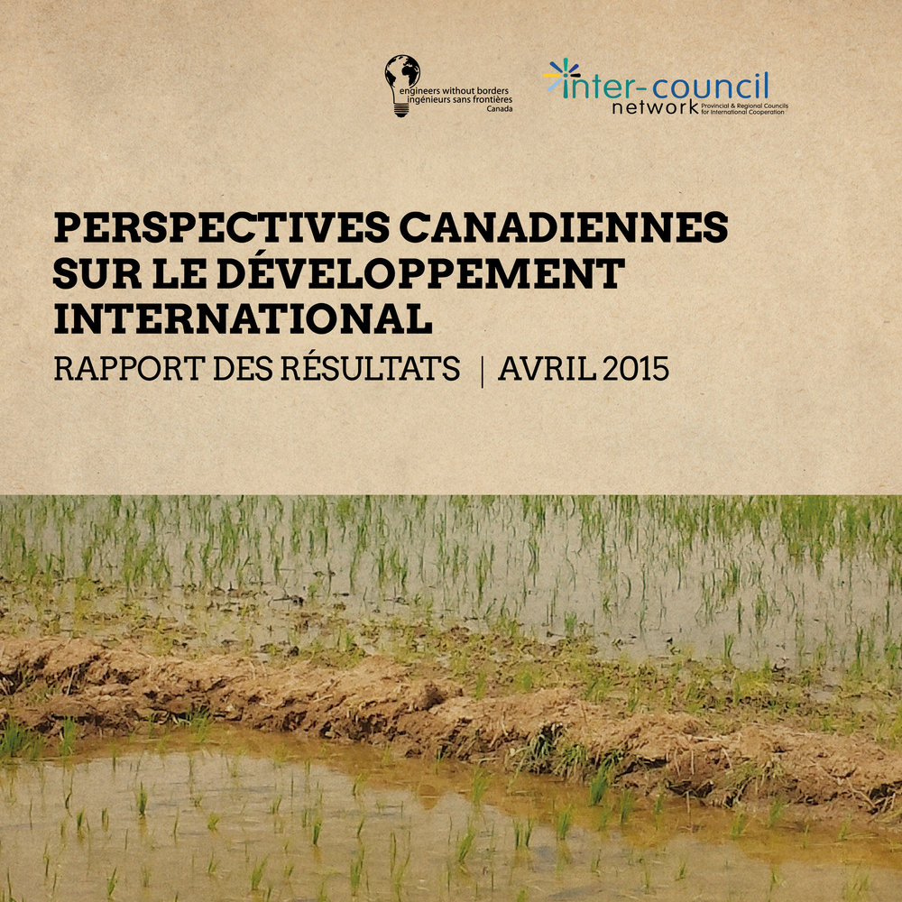 PERSPECTIVES CANADIENNES SUR LE DEVELOPPEMENT INTERNATIONAL