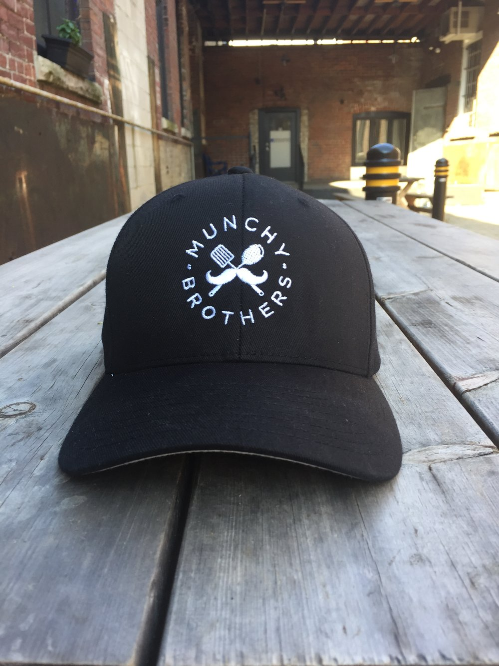 Seriously...how sweet is this cap? and it's fitted. No strap-back nonsense. We're better that that.