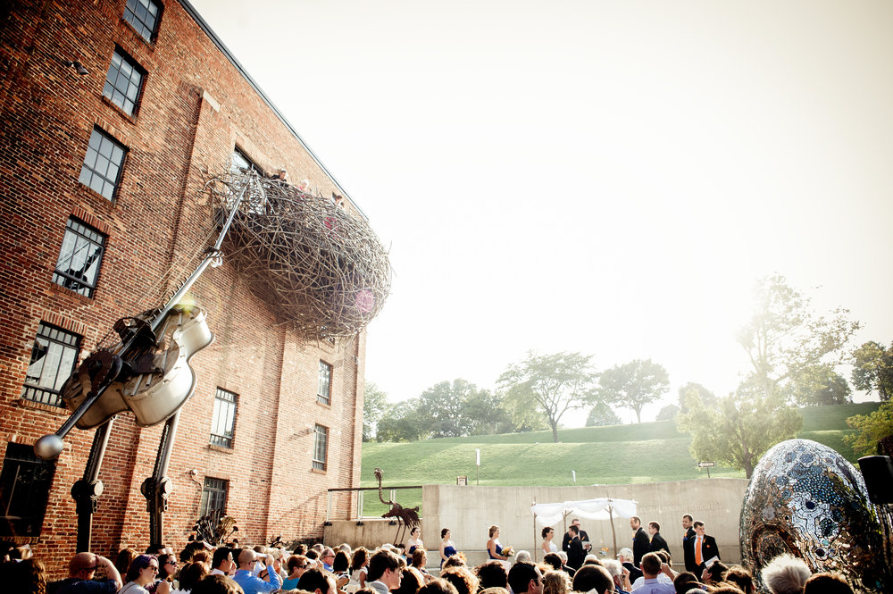 Wedding Ceremony at the American Visionary Art Museum