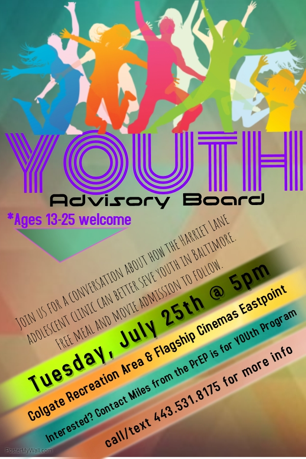 this tuesday  youth advisory board meeting   u2014 prep is for