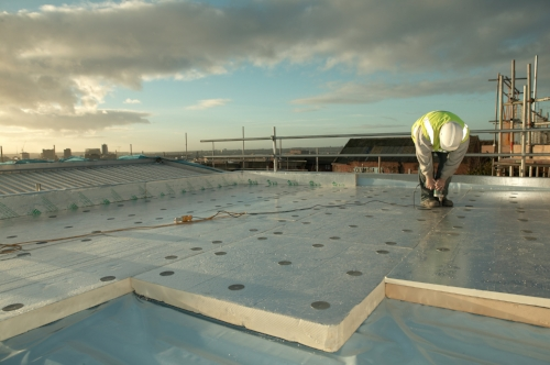 Exceptional The Type Of Insulation Will Depend On The Application Of The Roof System  And Budget.