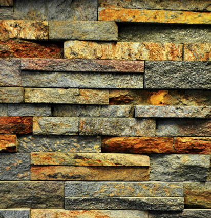 Natural Stacked For those who desire the warmth and beauty of natural stone.