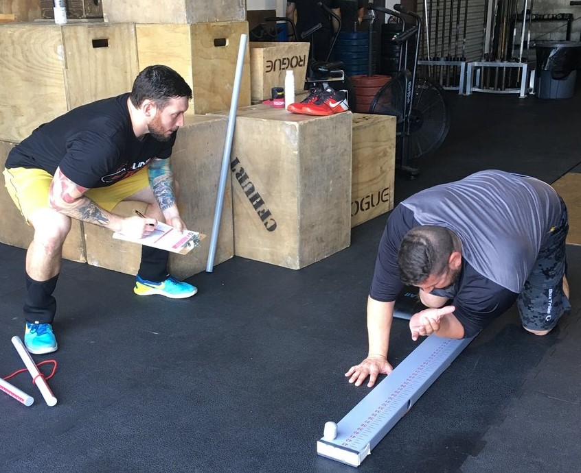 Evaluation   Utilizing special tests, range of motion analysis, and the Functional Movement Screen, we help figure out what the cause of the problem is.