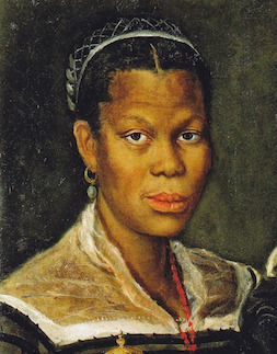 Portrait of an Enslaved Woman, Anibale Caracci 1580s