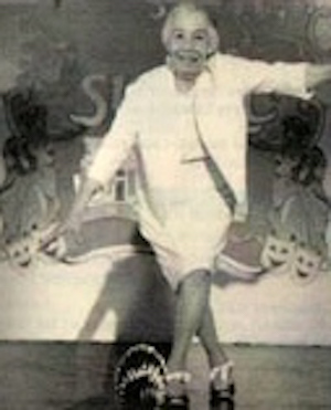 Josie Woods, dancing in later years