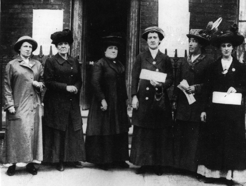 Suffragette Deputation to 10 Downing St