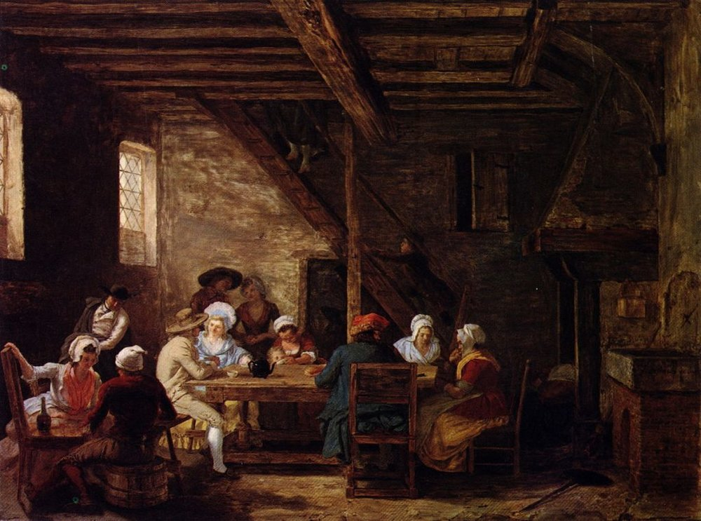 Pub Interior by Léonard Defrance (1735–1805) Wikimedia Commons.