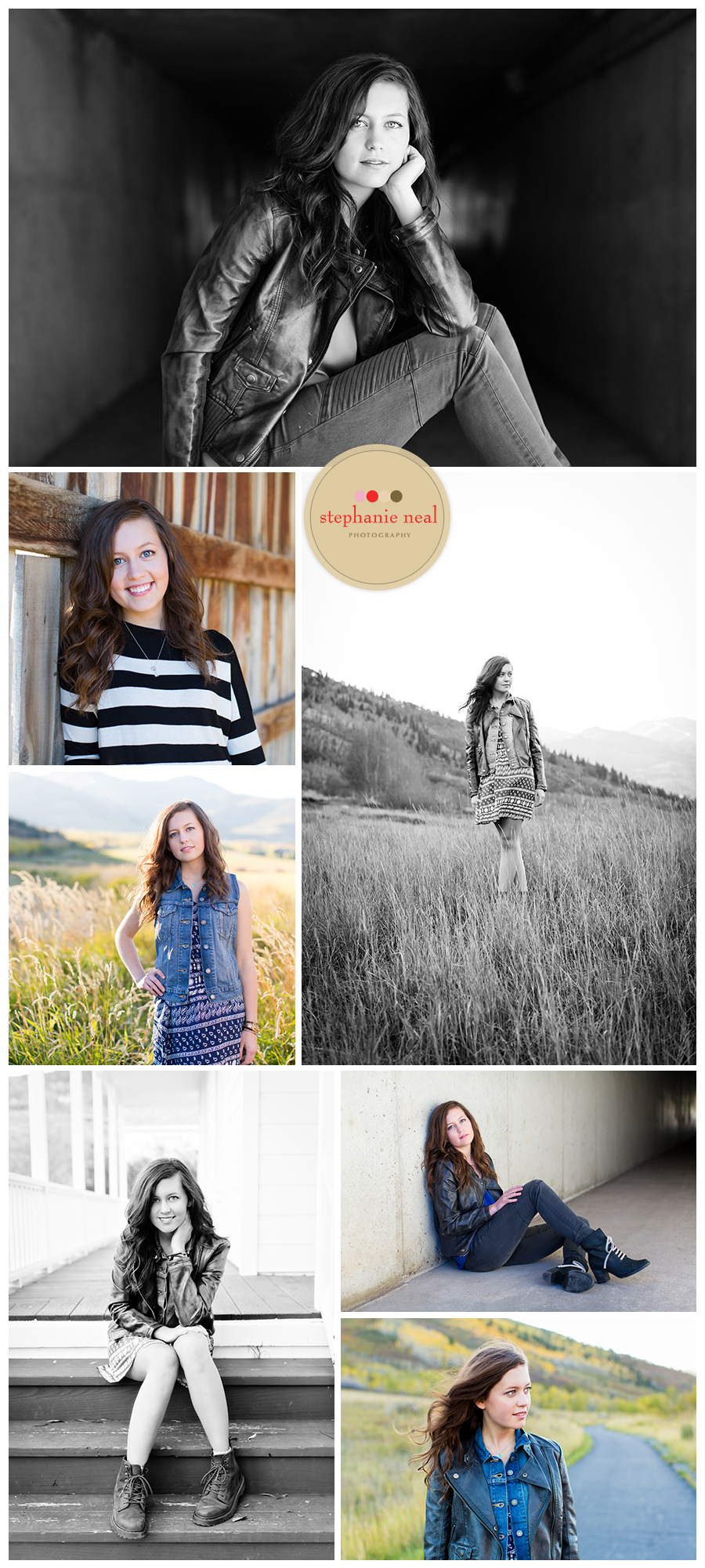 Stephanie Neal Photography Park City Utah Senior Portraits