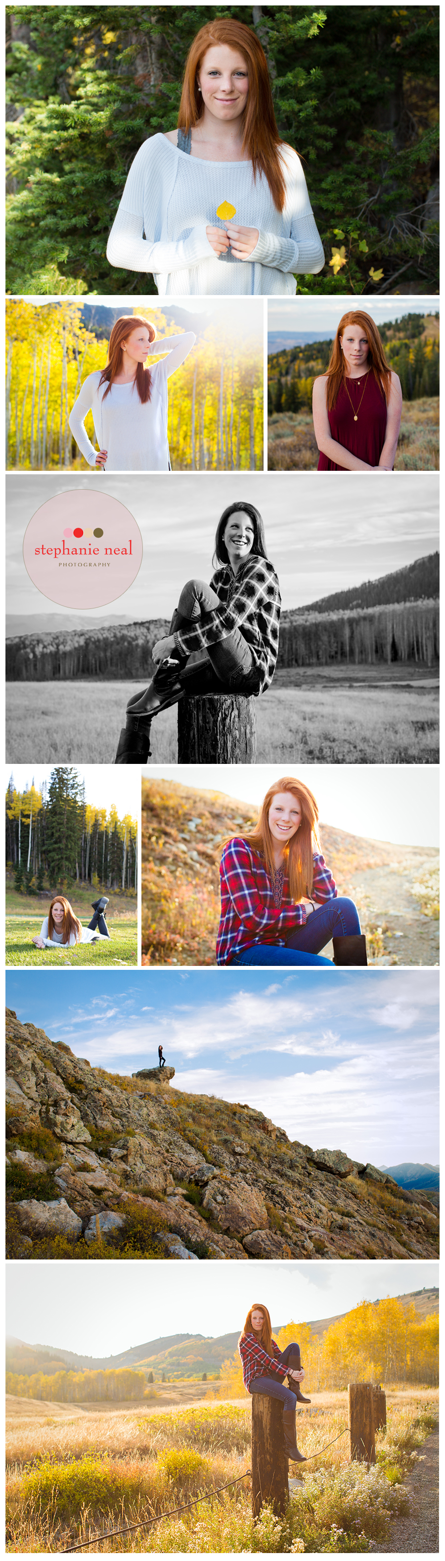 Park City High School senior portraits