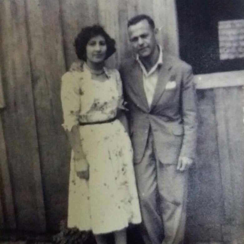 My grandparents Dora e Floriano Melez. circa 1955.