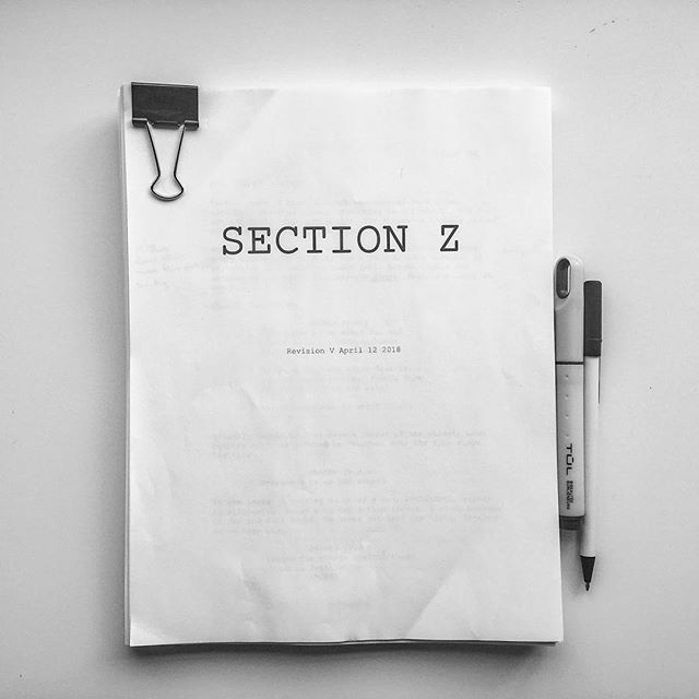 On our way to the @finfilmfest with Section Z!! . . . #film #filmfest #festival #halifax #script #read #develop #writing #production #zombie #zombies #movie #horror