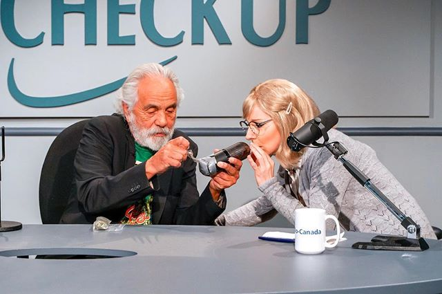 Remember that time @heytommychong was on #airfarcenye ?! That was pretty neat. . . . #airfarce #canadiantelevision #tv #television #cheechandchong #stoner #comedy #sketchcomedy @cbc @cbccomedy
