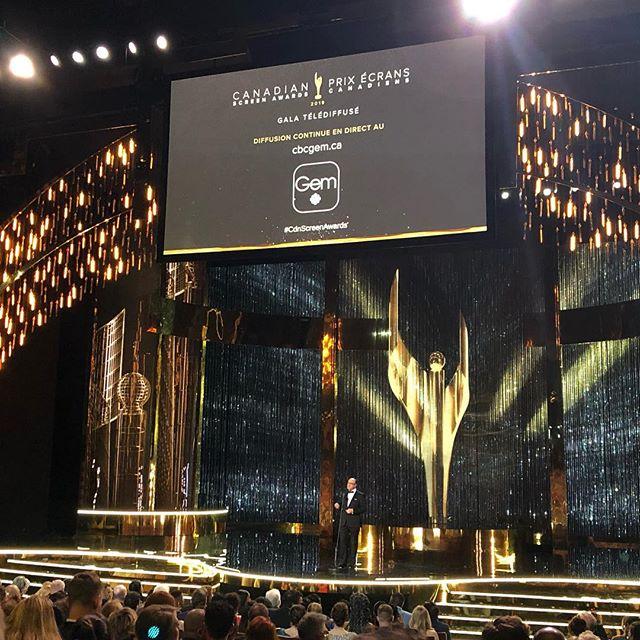 #CdnScreenAwards Here we go!  Good luck to all nominees but especially@secondjentv