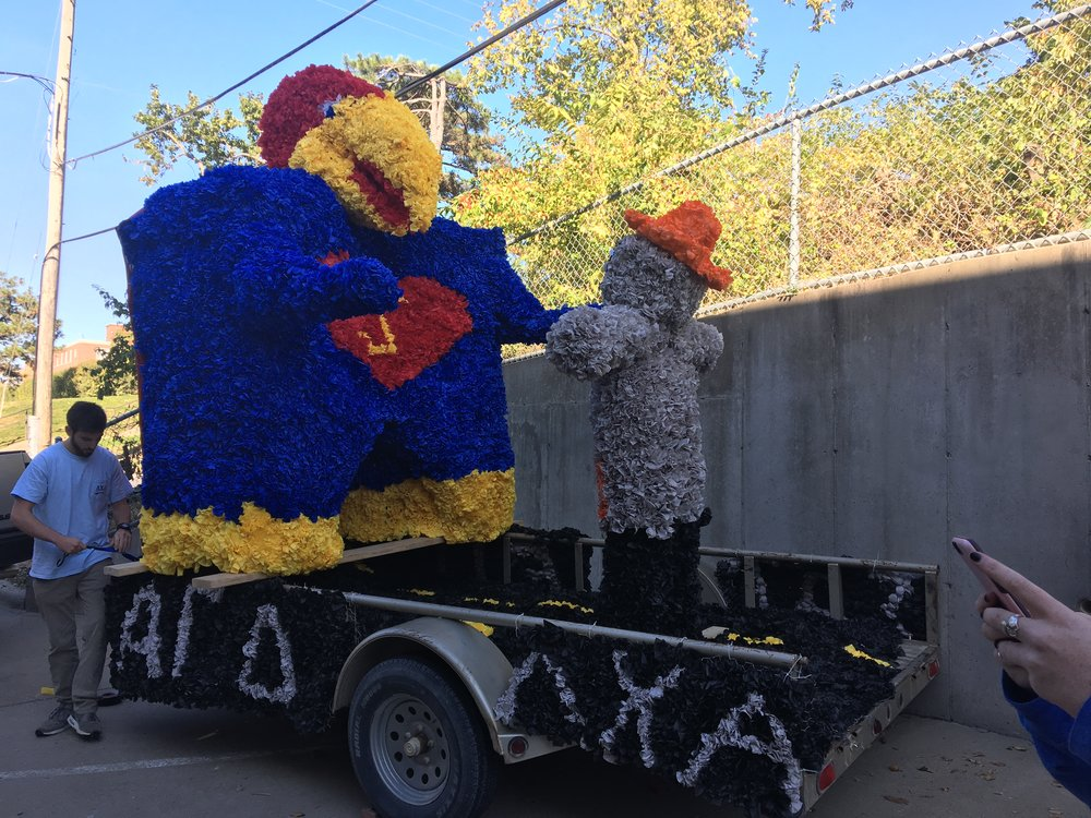 Homecoming Float