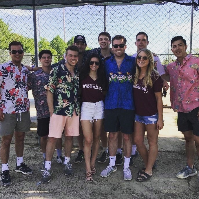 G Phi Moonball Philanthropy Team
