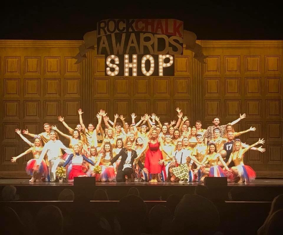 Rock Chalk Revue With Gphi