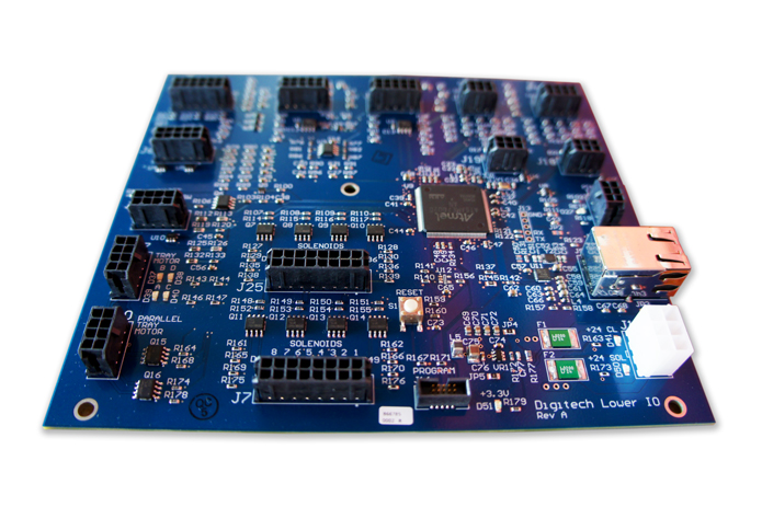 Superior Technology - At Digitech we continue to develop more advanced technology taking it to the next level. Whether it's designing boards with field replaceable fuses or combining 5 boards into 1, we use technology to simplify.