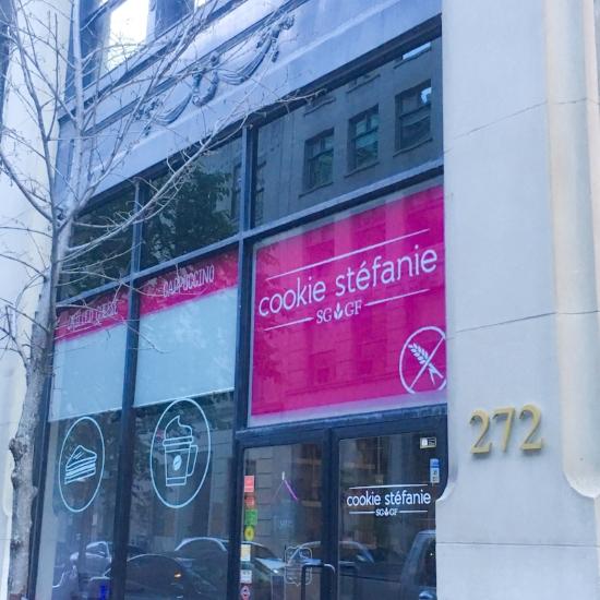 Facade Cookie Stéfanie