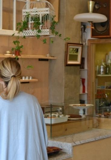 Moi au Kleine Shoppe Gluten Free Bakery