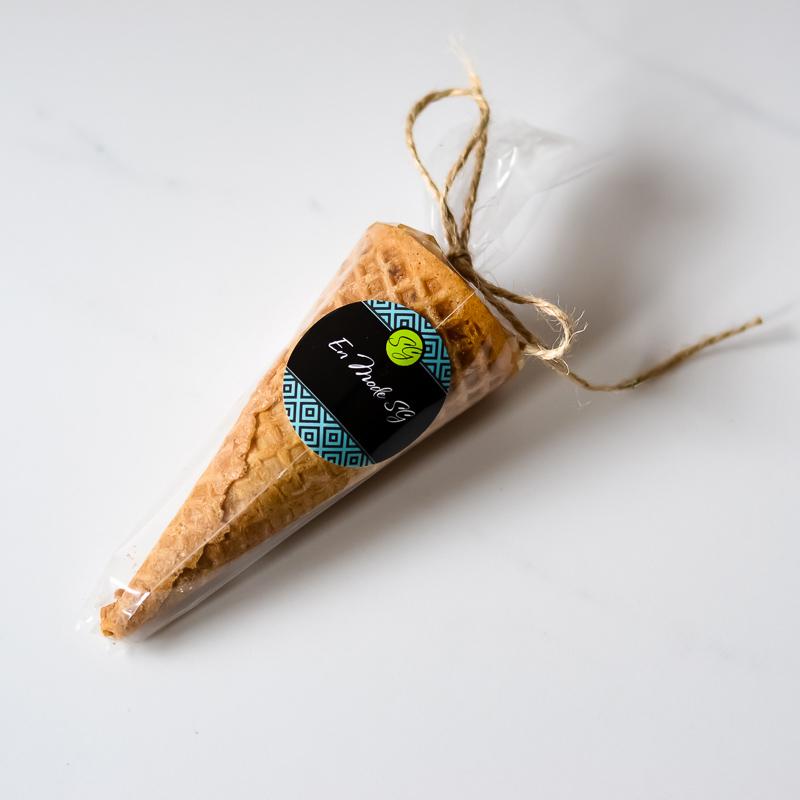 Cornet à l'érable - Sans Gluten & Sans LactoseBoutique Éphémère Art de Vivre Sans Gluten et en commande chez En Mode SG