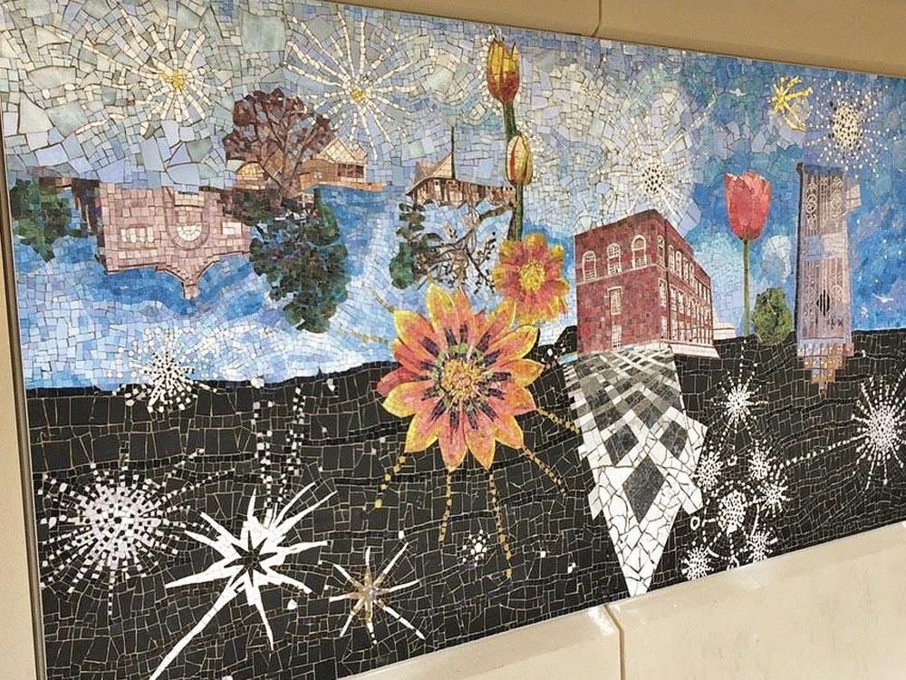 Bennington Banner - Bennington-born artist's murals installed in NY subway station