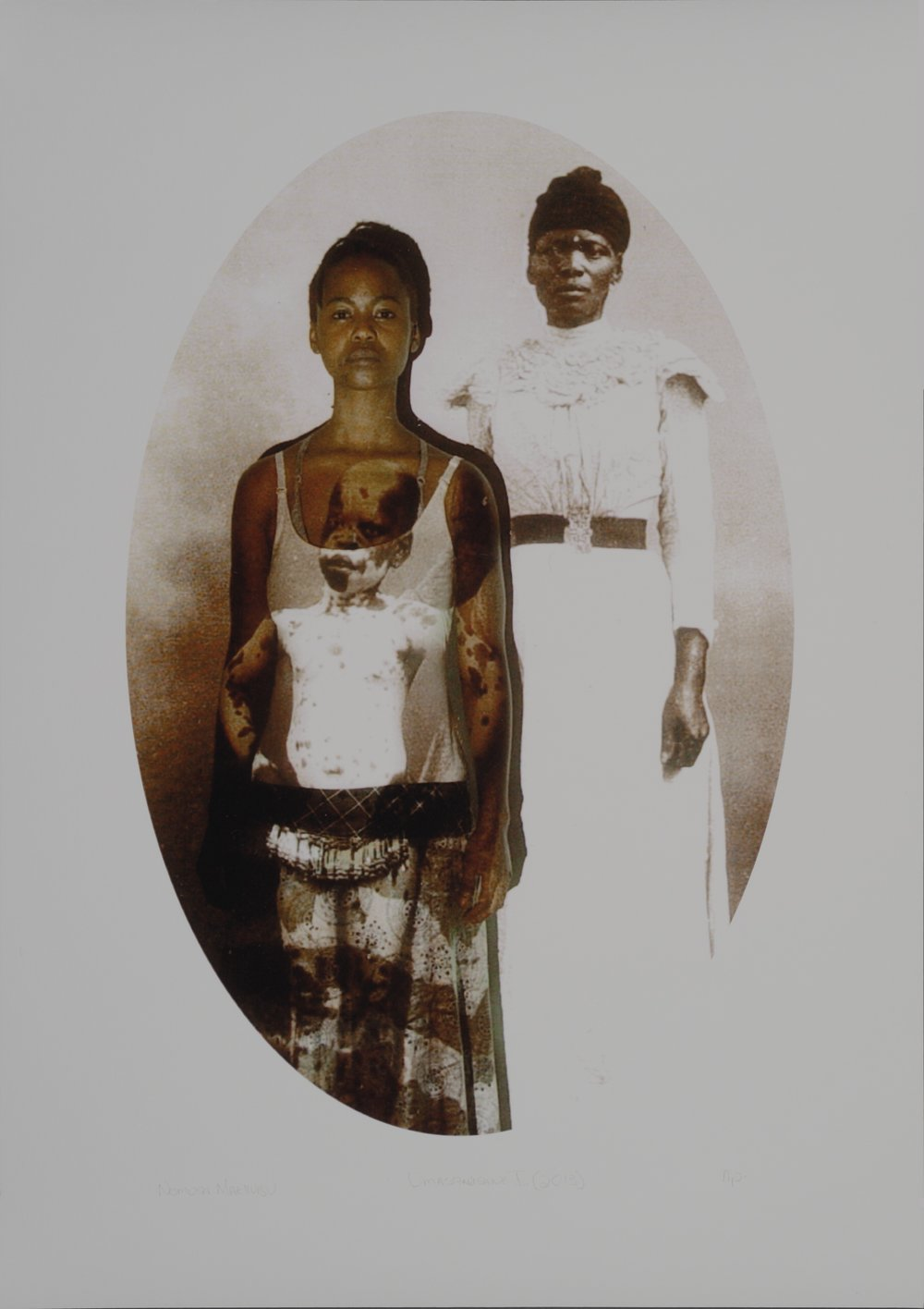 Umqela Nombhaco (Beautification scar) from The Self Portrait Project (2007/2013), 2014