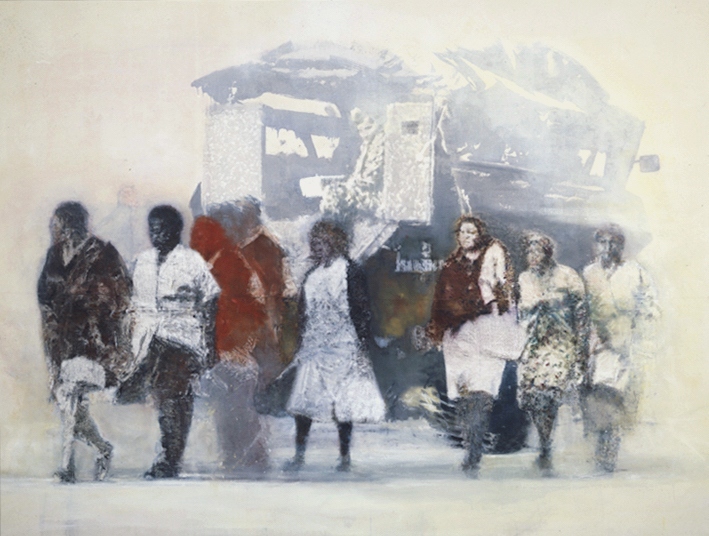 Women Returning From Work 1986-7
