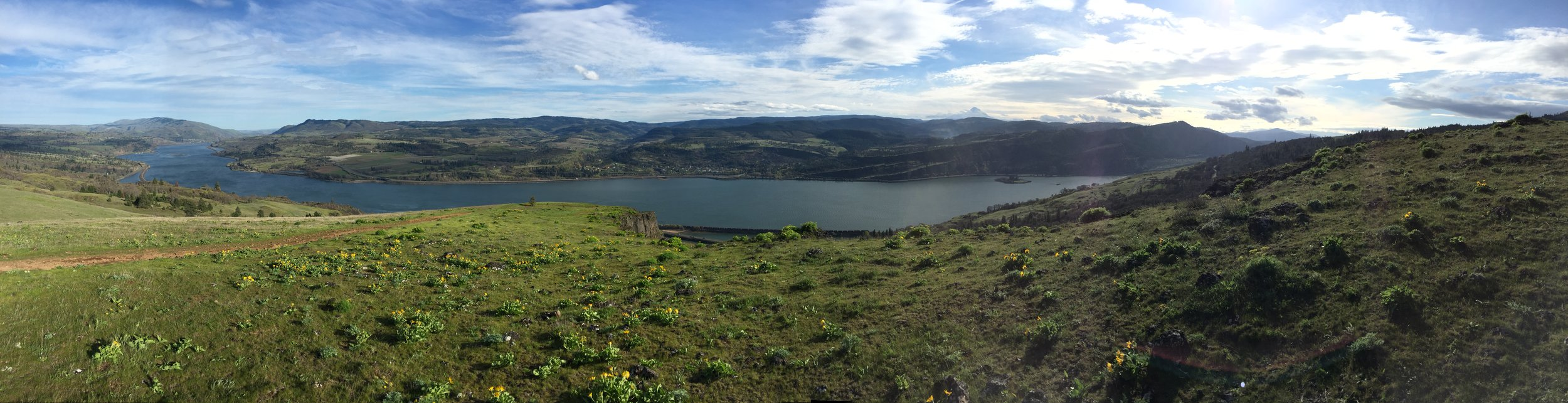 This is the Columbia River Gorge, Harvey.