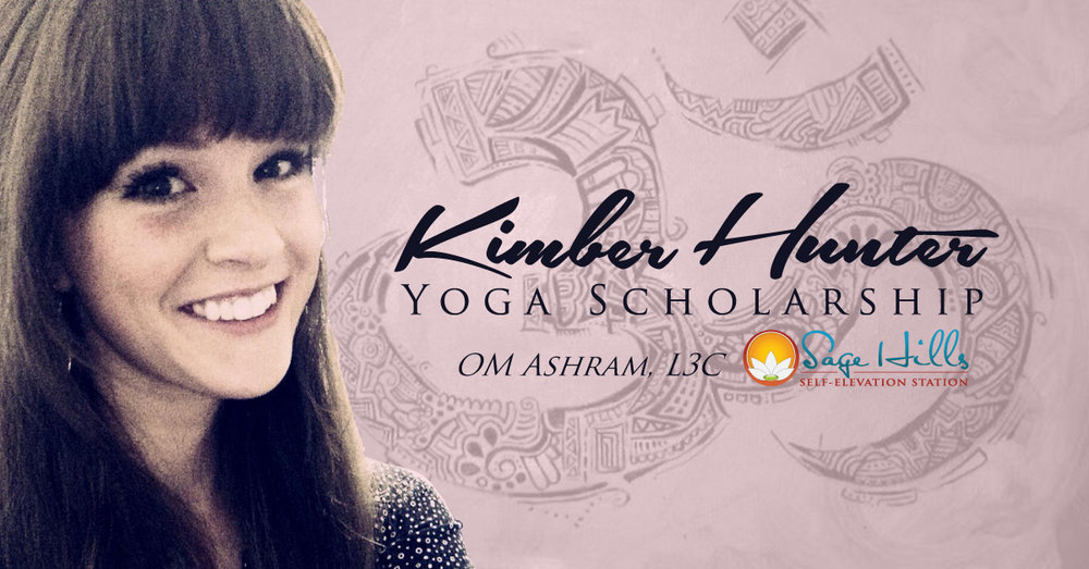 Kimber Hunter Yoga Scholarship image.