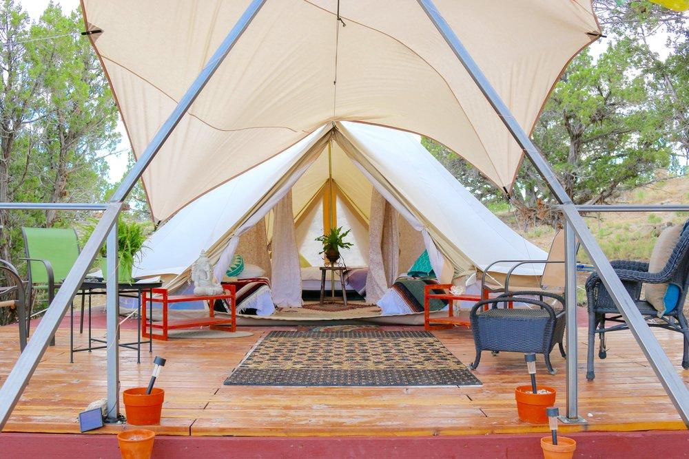 Sage Hills Glamping Tents