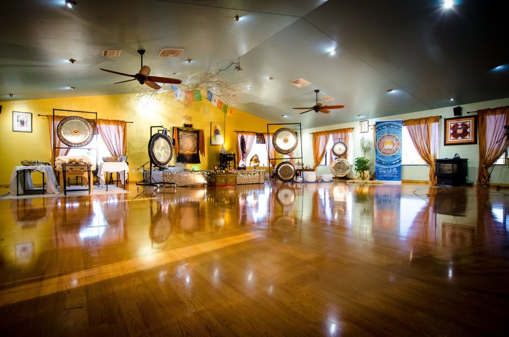Full Yoga Studio for healing retreats