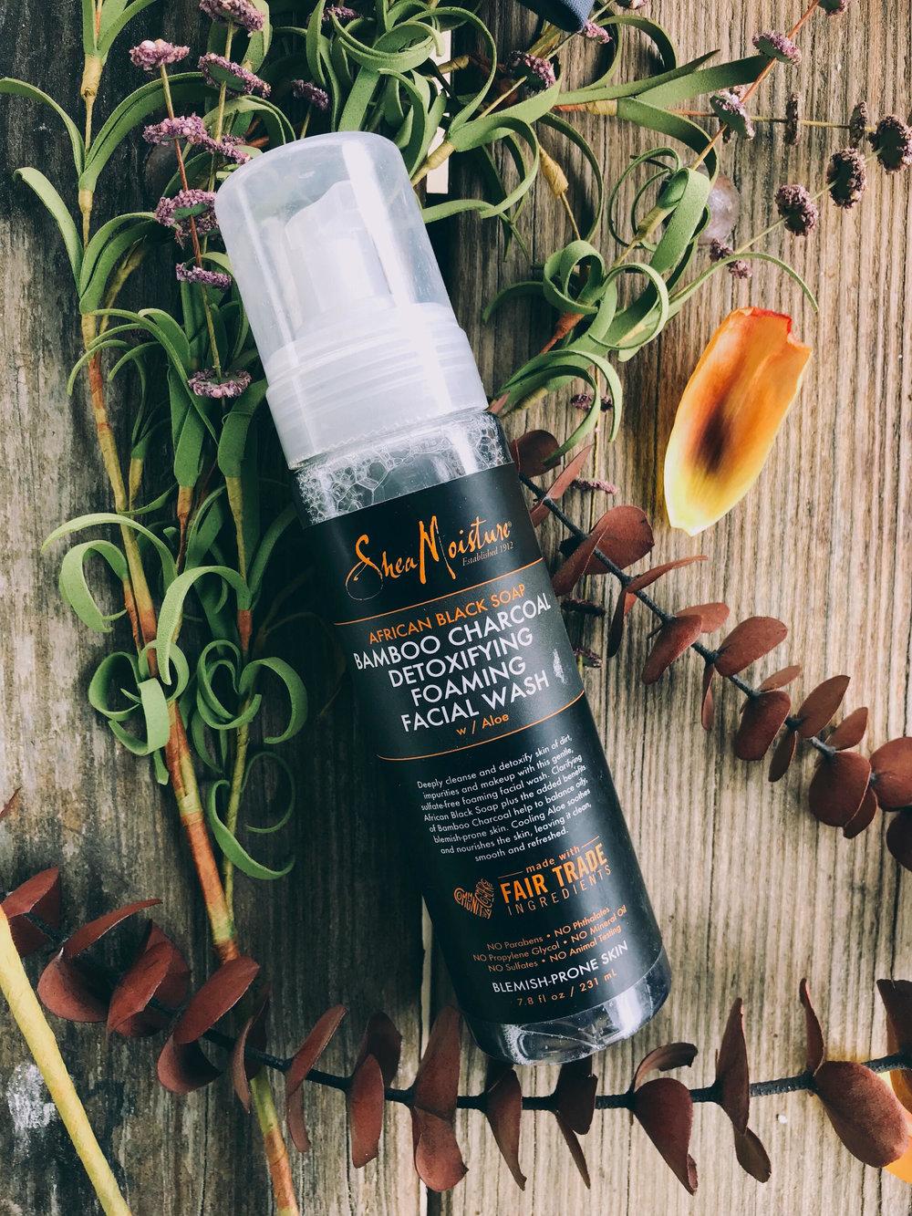 Bamboo Charcoal - Detoxifying Foaming Facial Wash with Aloe