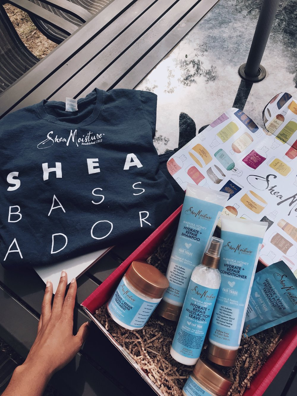 Guess What?!  - I am proud to announce that I am a Shea Moisture ambassador for 2018!!!!!! This blog has brought me many opportunities, and I never would have thought I would be working with one of my favorite brands. I will be reviewing a Shea Moisture collection once a month- and letting you know all the details on the products! Thank You, #SheaFam.   Read my first review here!