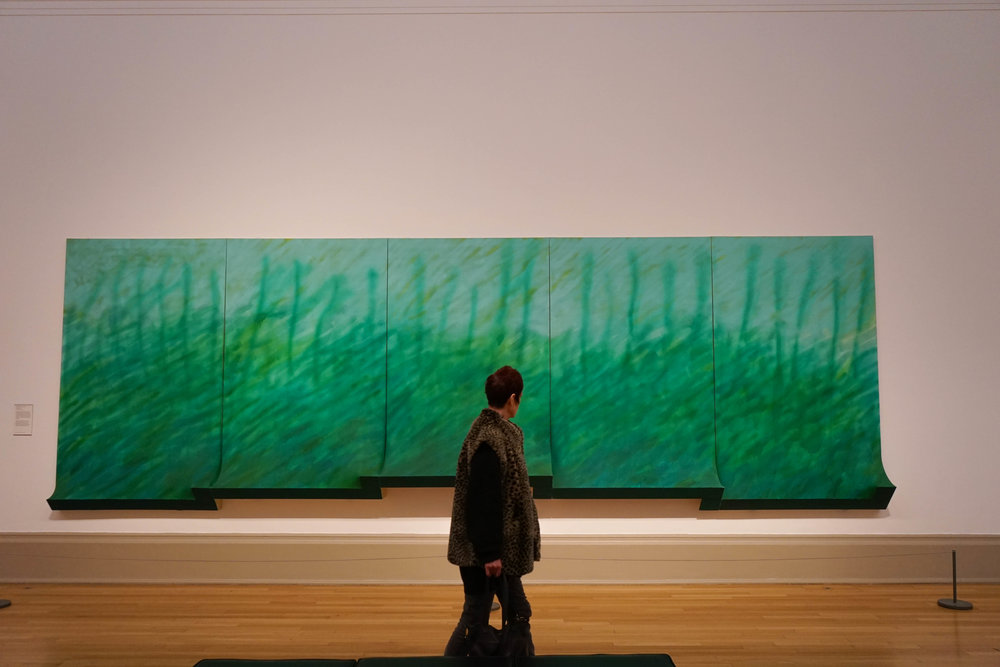 green art at the Tate