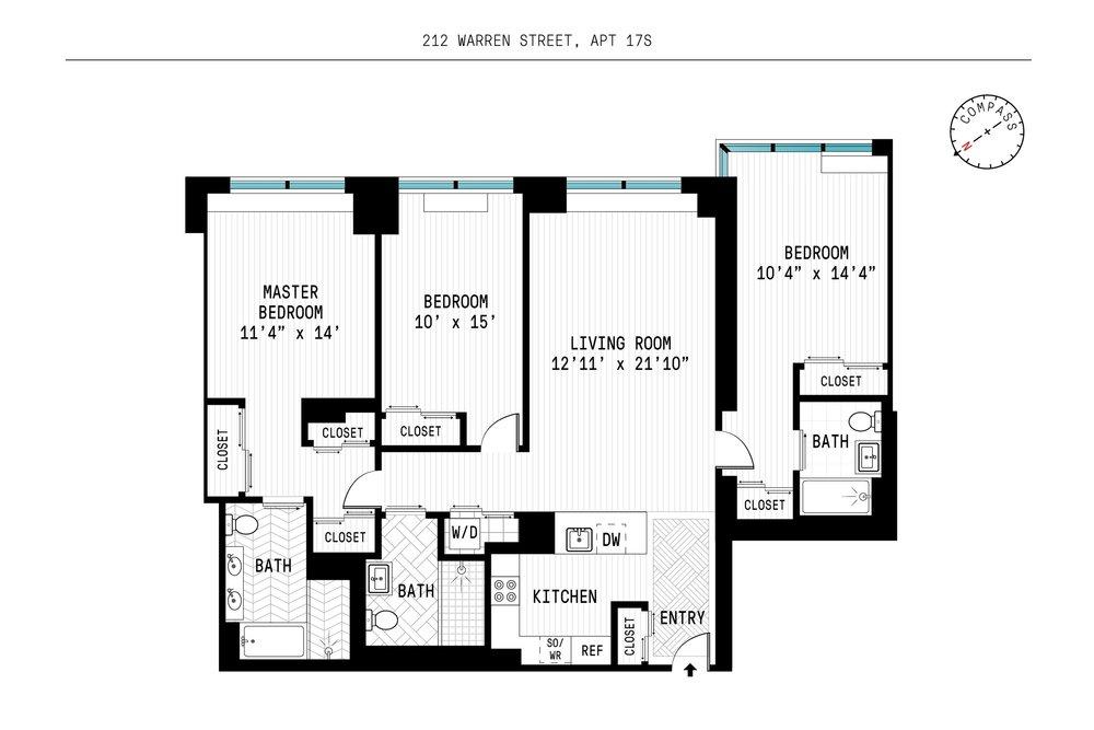 212 Warren, 17S Floorplan.jpg