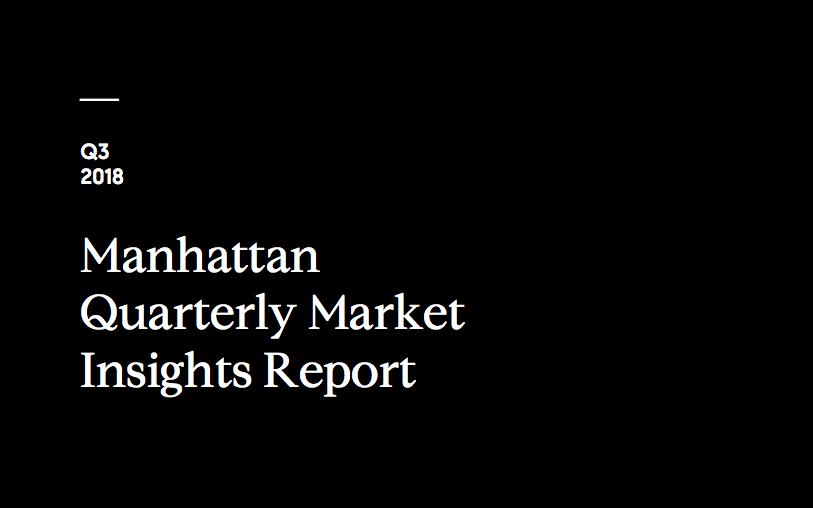 MANHATTAN Q3 2018 MARKET REPORT