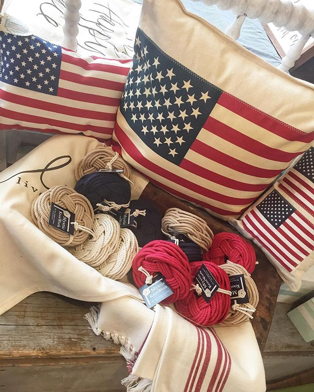 See something you need? Can't make it in before 4?  Message us! We can be available by appointment so you have all things nautical and patriotic for your Fourth of July parties!