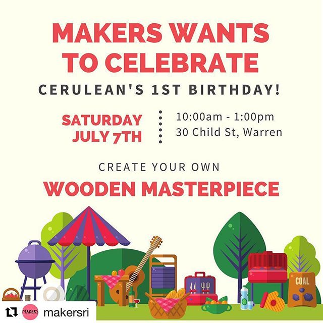 We are so exited to have @makersri joining us for our celebration! They'll be set up outside with a fun activity for your kiddos to make so make sure you come by!! #Repost @makersri with @get_repost ・・・ We cannot wait to celebrate next Saturday!! Let your little create with us while you shop all these uniquely beautiful finds 🙌🏼 www.makersri.com . . #cerulean #ceruleanofri #alltheshadesofyou #warrenri #discoverwarren #rhodeisland #rimonthly #ribloggers #riblogger #providencejournal #eastbay #shopsmallri #shoplocalri #buylocalri #handmade #vintage #401love #shopsonchildstreet #nautical #nauticaldecor #farmhouse #farmhousedecor #coastalfarmhouse #shopoutsidethebox