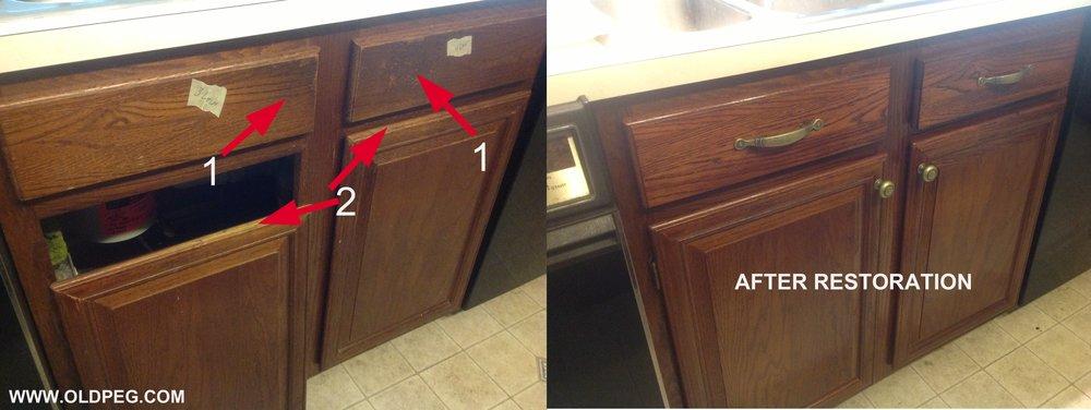 Cabinet Restoration Amp Painting Old Peg Furniture Services