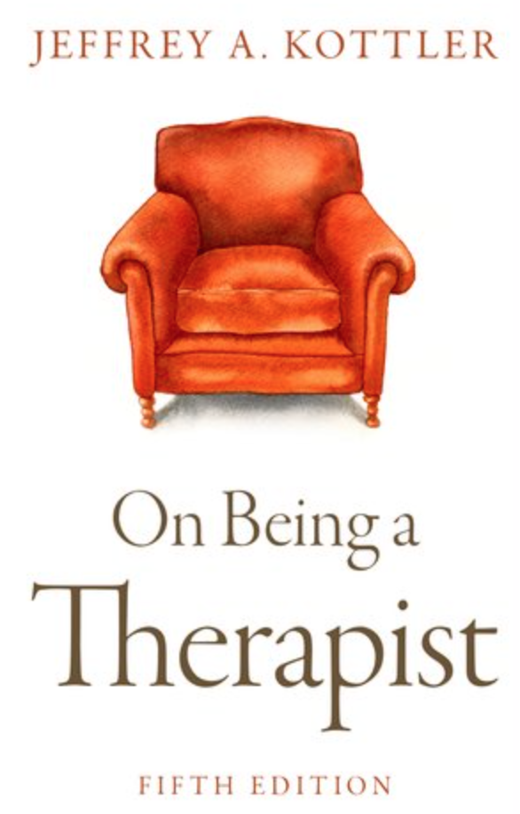on being a therapist jeffrey kottler