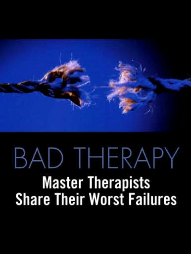 bad therapy master therapists share jeffrey kottler