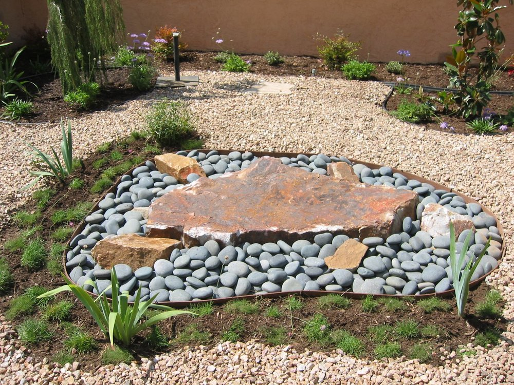 Using gravel in the landscape