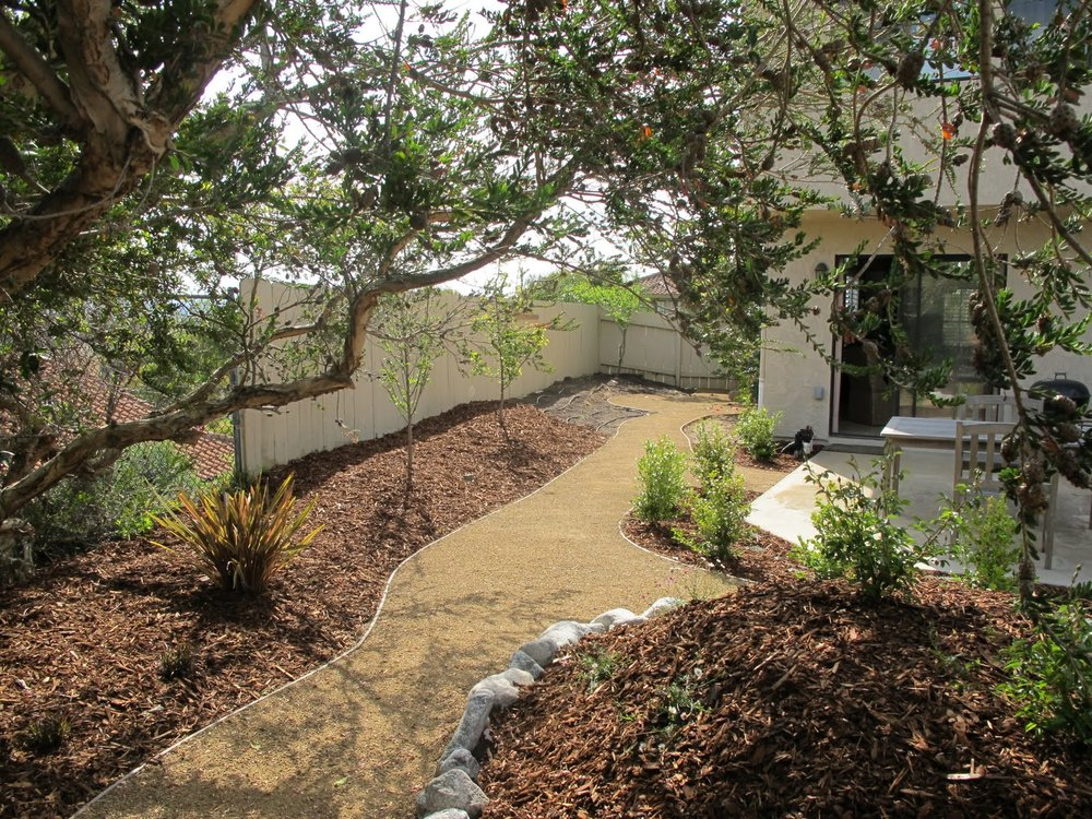 Using decomposed granite (DG) in the landscape