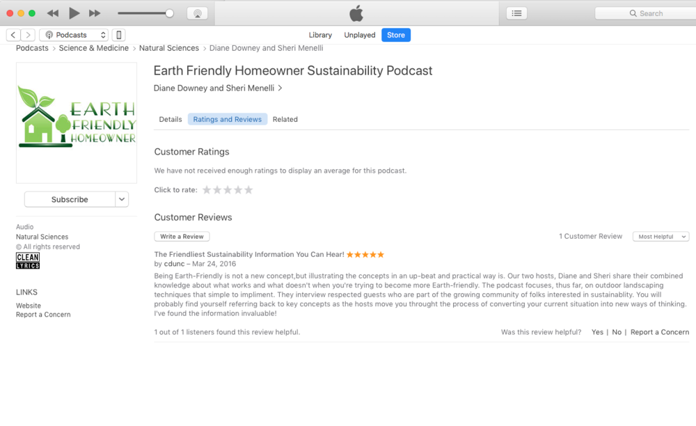 Earth Friendly Homeowner Podcast Review.png