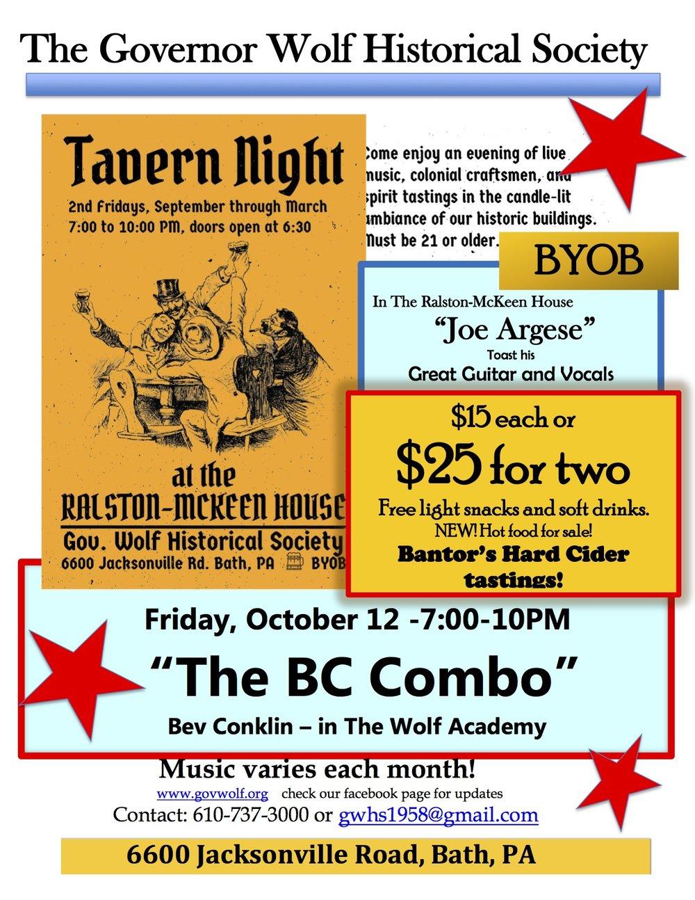 GW Tavern Night Poster - October-'18.jpg